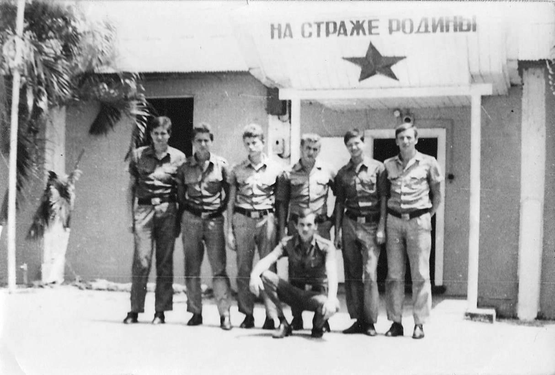 «Орбита». Вход в казарму. Лето 1979.