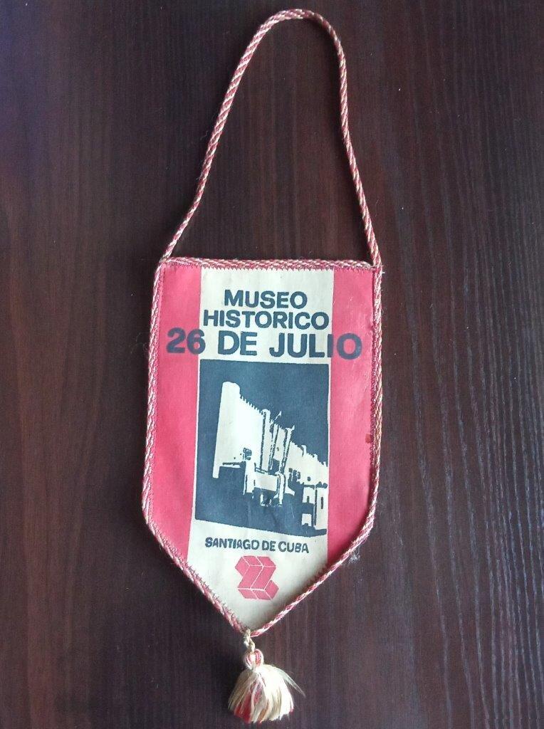 1982-1984. Кубинский вымпел с Че Геварой