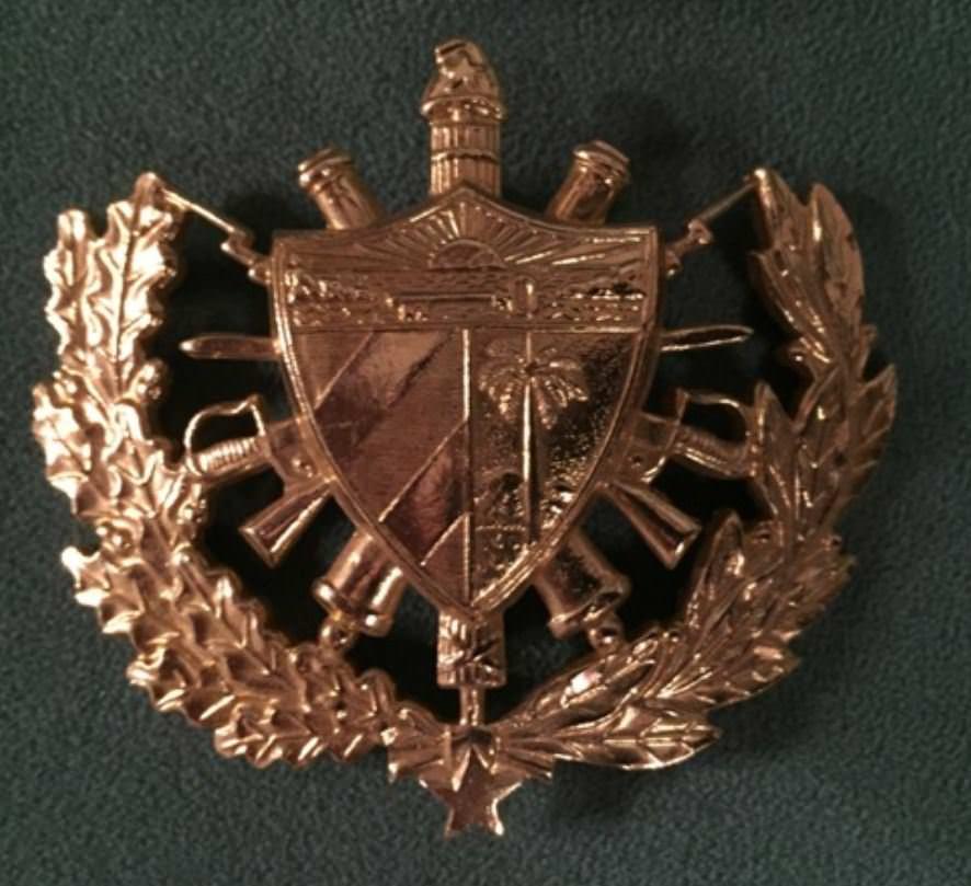 1982-1983. Кокарда от парадки