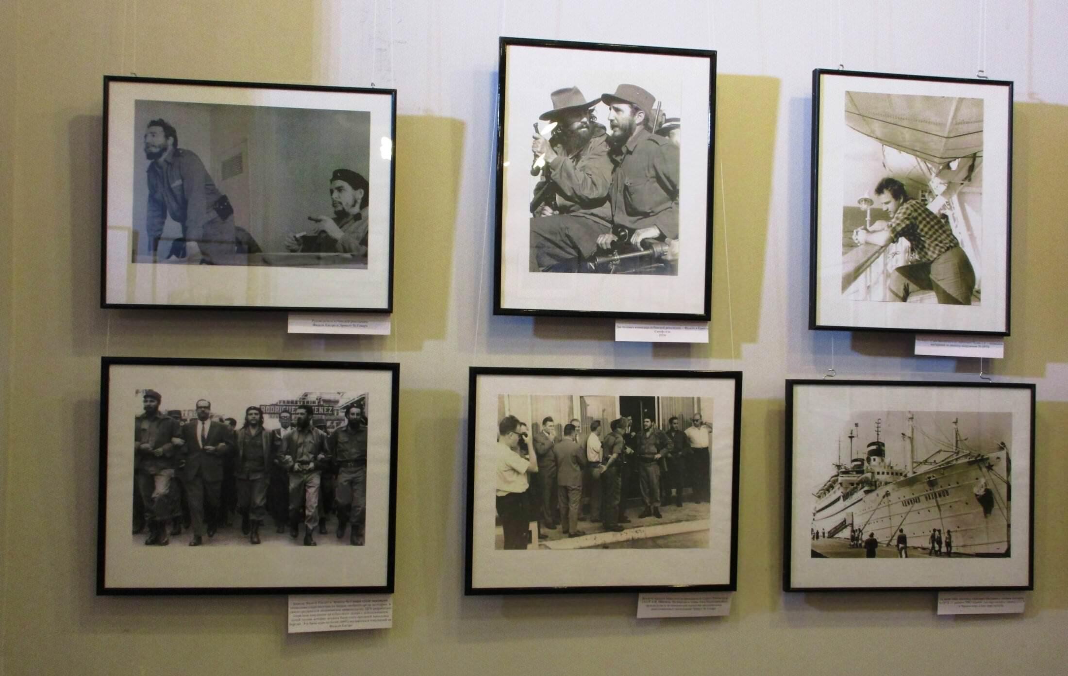 2016-10-27. Известные снимки с Фиделем, справа внизу «Адмирал Нахимов».