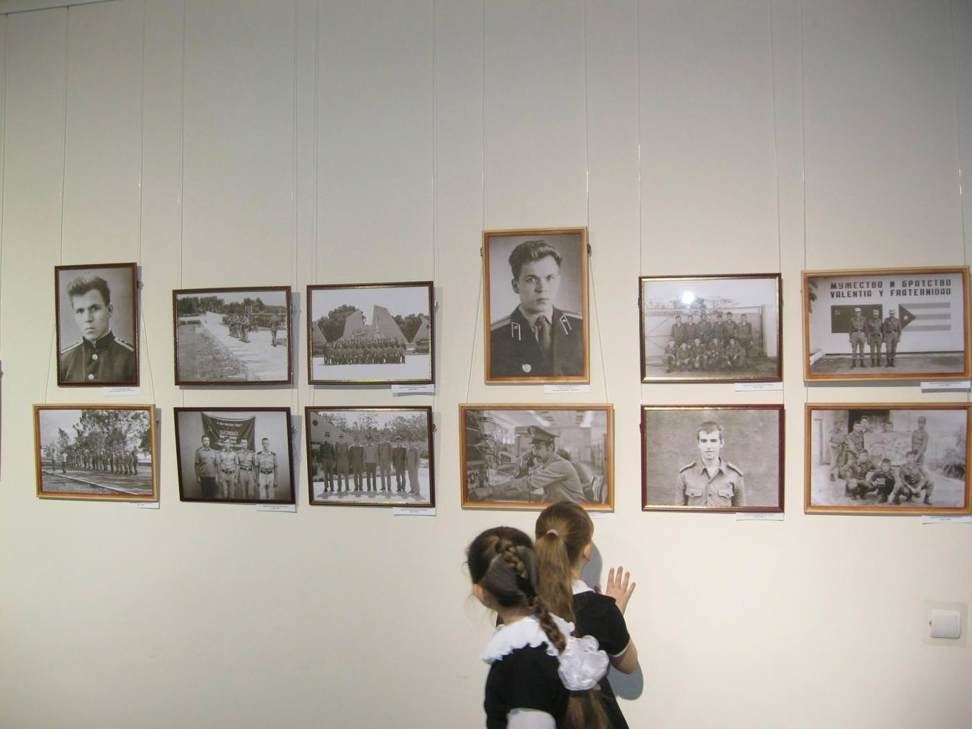2016. Январь. Фото В. Крюкова в центре вверху и вверху слева ветерана ГСВСК Л.Я. Соколова