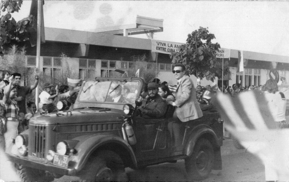 1970-1974. Фидель Кастро за рулем автомобиля
