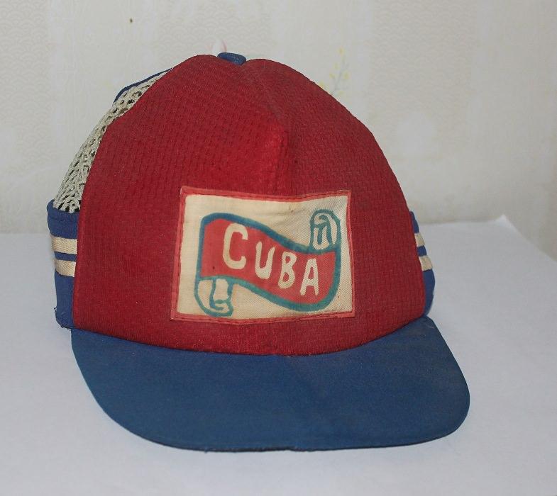 021. Кепка, куплена на Кубе
