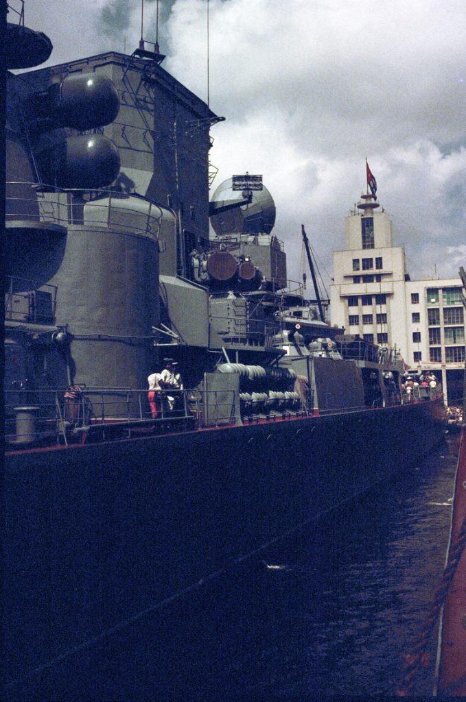 Большой противолодочный корабль «Азов», фото с борта гв. эск. миноносца «Гремящий»