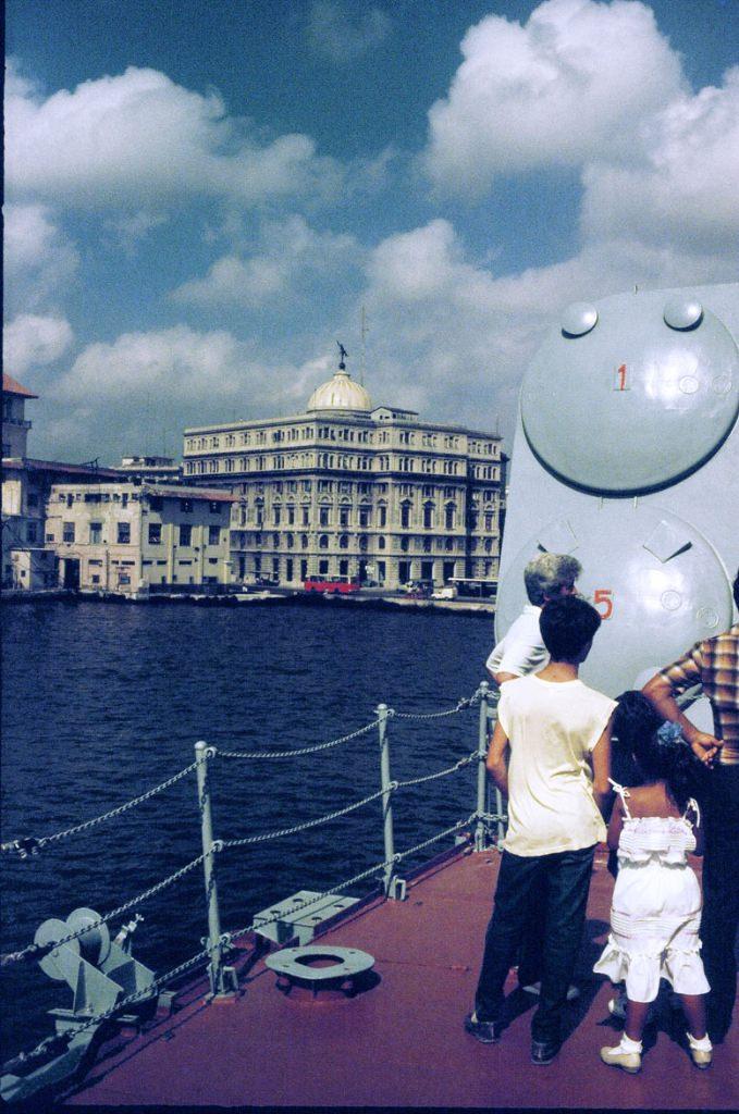 Вид на Старую Гавану, фото с борта БПК «Азов»