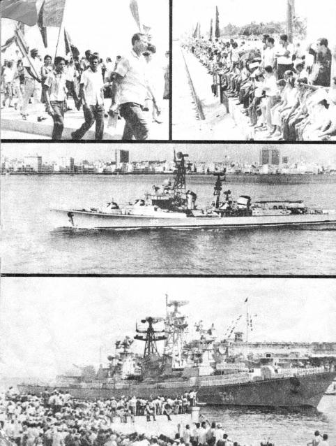 Спецвыпуск журнала о визите советских ВМФ на Кубу в 1969 году, лист 2