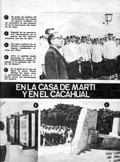 Спецвыпуск журнала о визите советских ВМФ на Кубу в 1969 году, лист 5