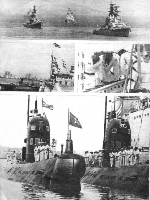 Спецвыпуск журнала о визите советских ВМФ на Кубу в 1969 году, лист 6