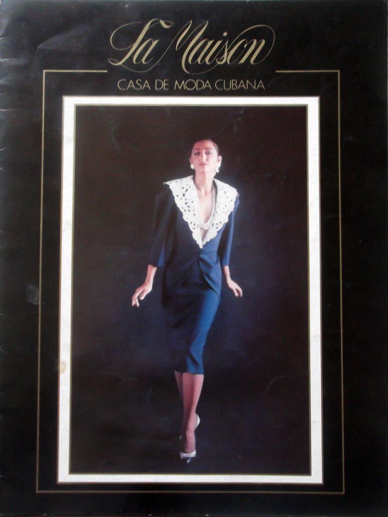 Журнал кубинского Дома моды. 80-е годы. Обложка.