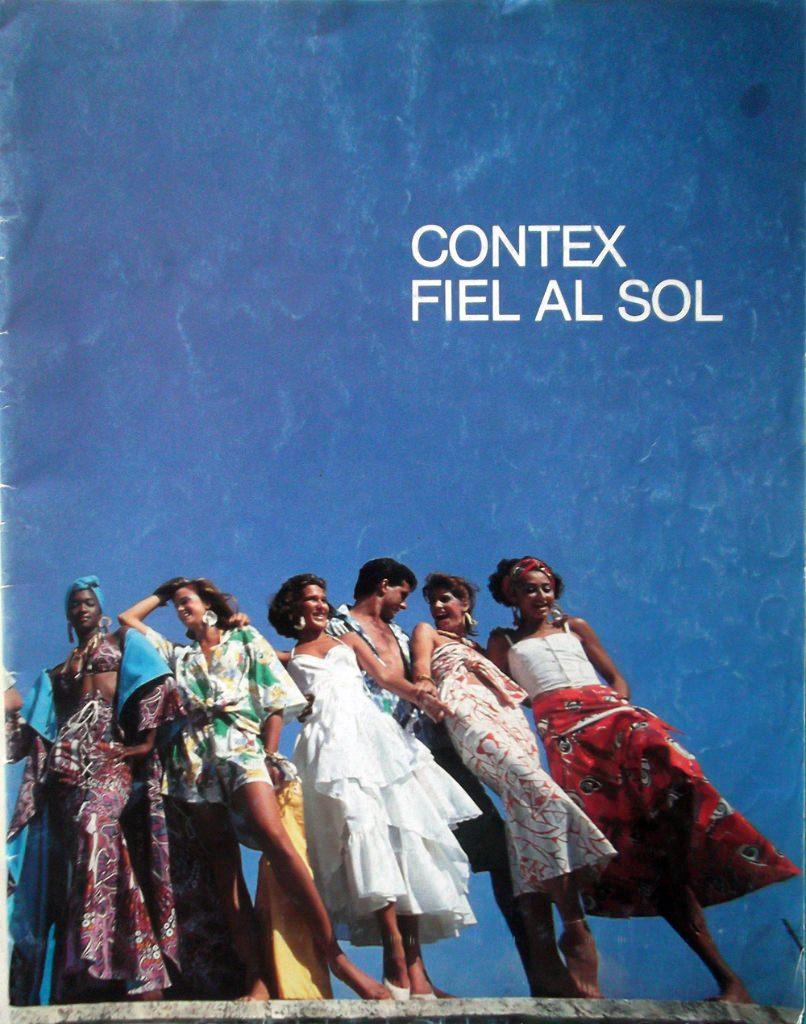 Кубинский журнал моды 1987 года. Обложка.