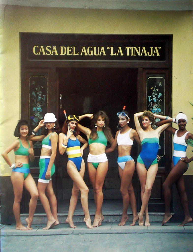 Кубинский журнал моды 1988 года. Обложка.