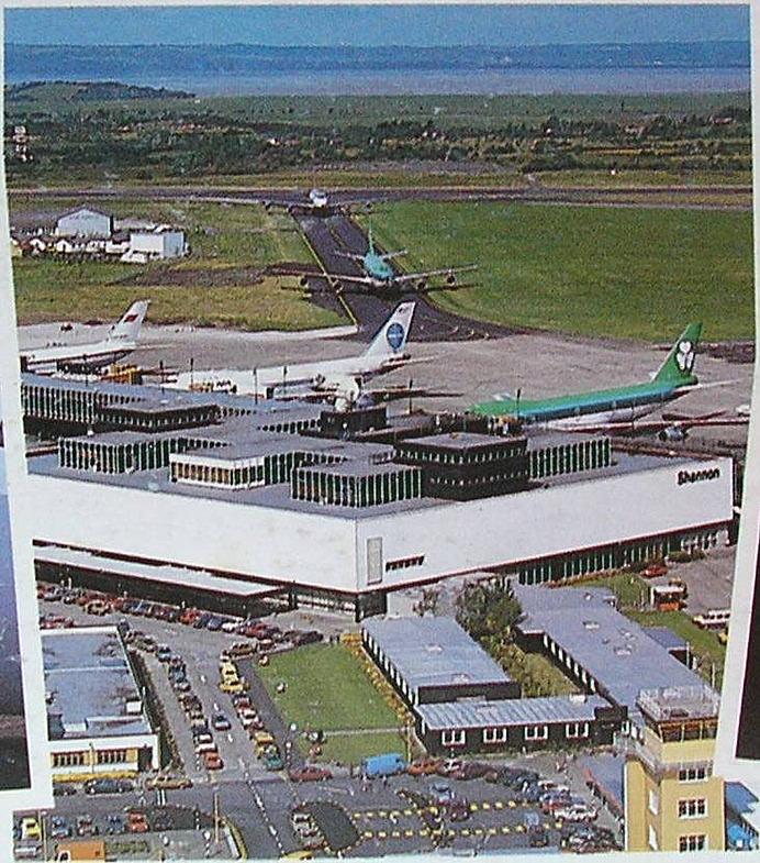 1988. Фотография аэропорта Шеннон