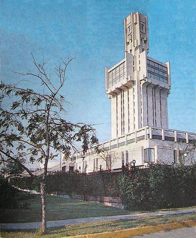 1990. Советское посольство в Гаване.