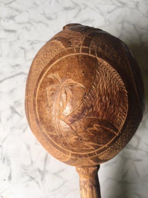 1965-1970. Маракас из кокоса, фото 3
