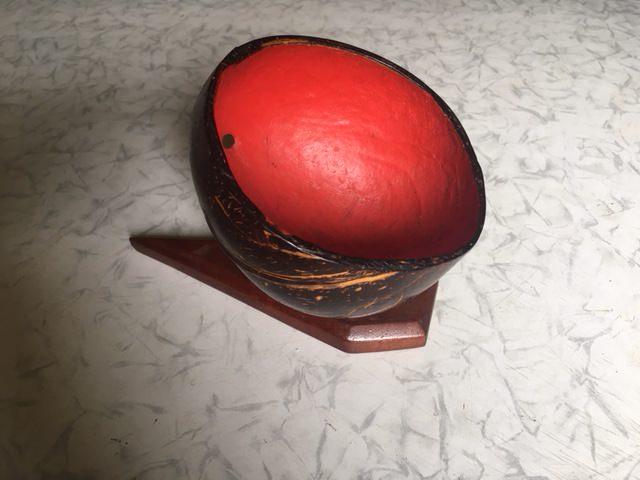1965-1970. Вазочка из кокоса, фото 1