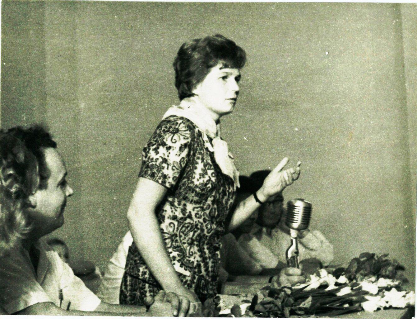 1963, 8 октября. В.В. Терешкова