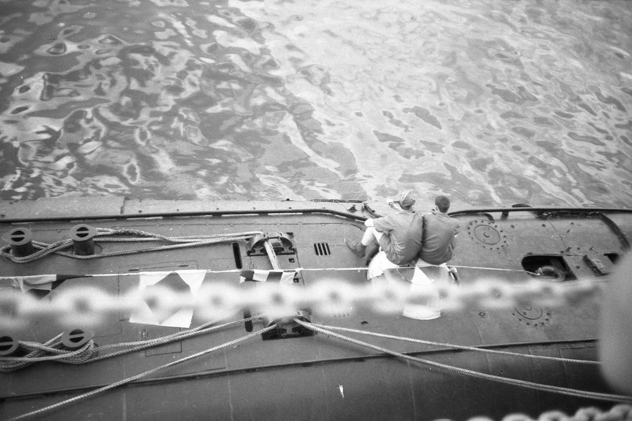 1988. Корабли ВМФ в Гаване.