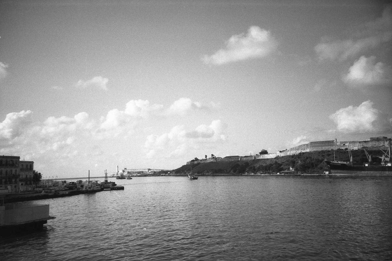 1988. Гаванская гавань. Вид с корабля.