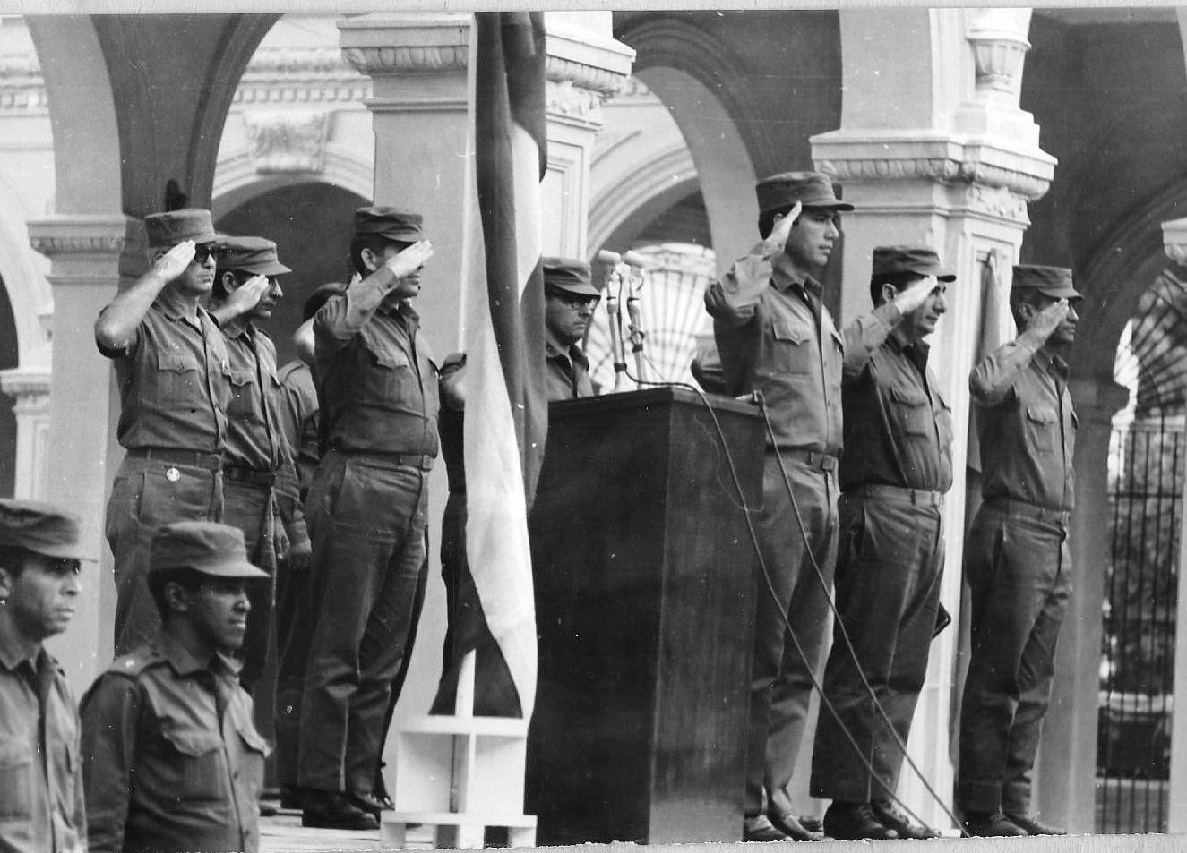 01. Торжественная церемония в Военно-техническом институте.