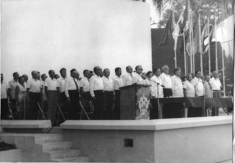 Собрание, посвященное 30-летию окончания Великой Отечественной войны, фото 2